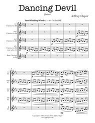 Dancing Devil (clarinet quintet)