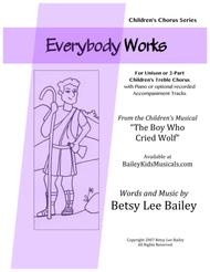 Everybody Works for 2-Part Children's Chorus and Piano