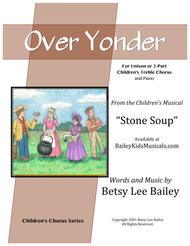 Over Yonder for Unison or 2-Part Children's Chorus and Piano