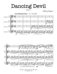 Dancing Devil (clarinet quartet)