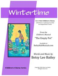Wintertime for 2-Part Children's Chorus