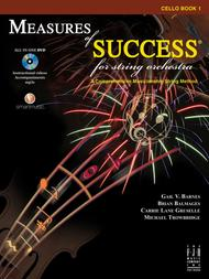 Measures of Success for String Orchestra-Cello Book 1