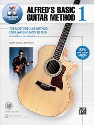 Alfred's Basic Guitar Method, Book 1