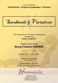 Sarabande & Variations - Georg Friedrich Haendel - Barry Lyndon Soundtrack for Full Orchestra (or Strings)