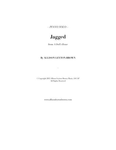 Jagged - Imaginative Piano Solo - by Allison Leyton-Brown