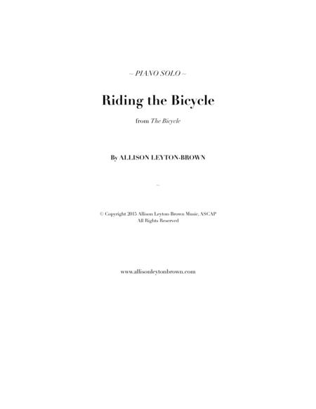 Riding the Bicycle - Evocative Piano Solo - by Allison Leyton-Brown