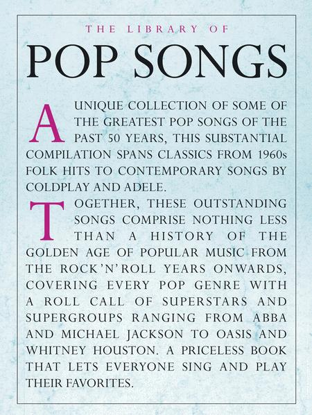 The Library of Pop Songs