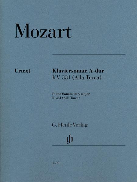 Piano Sonata in A Major K331 (300i) (with Alla Turca)
