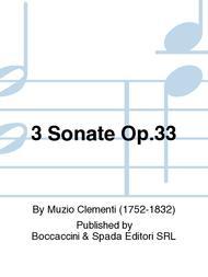 3 Sonate Op.33