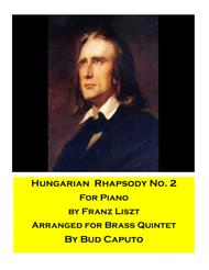 Hungarian Rhapsody No. 2  for Brass Quintet