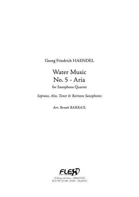 Water Music - No. 5 - Aria