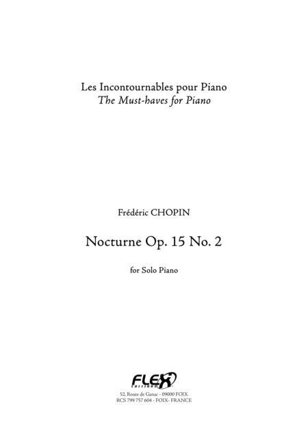 Nocturne Op. 15 No. 2