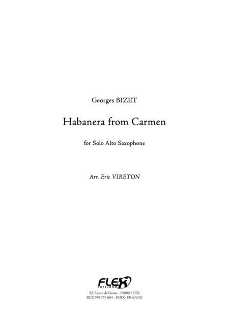 Habanera from Carmen