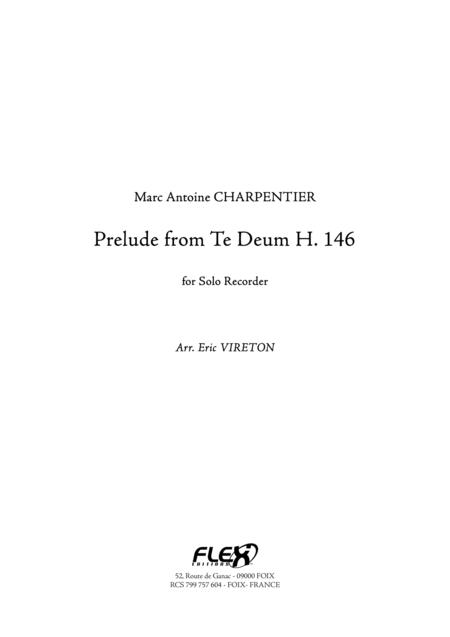 Prelude from Te Deum T. 146