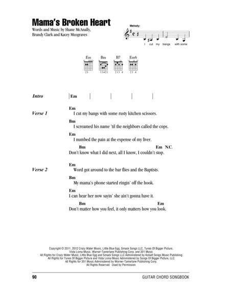 Download Mama\'s Broken Heart Sheet Music By Miranda Lambert - Sheet ...