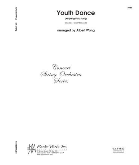 Youth Dance (Xinjiang Folk Song) - Full Score