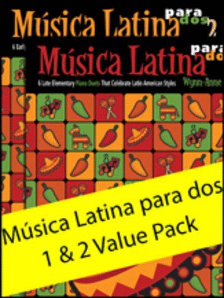 Musica Latina para dos 1 & 2 Value Pack
