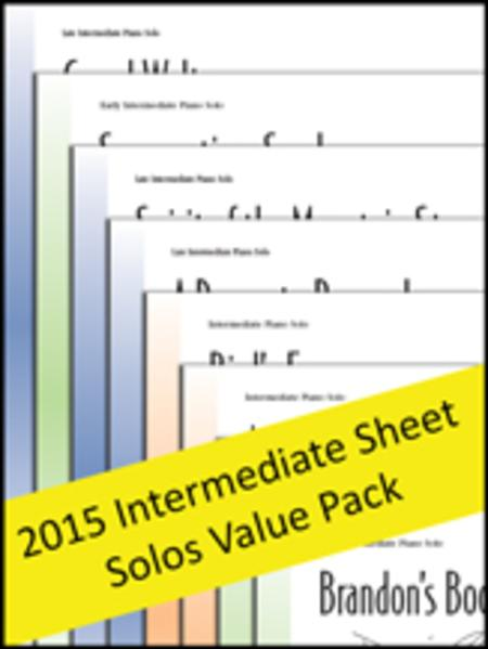 Intermediate Sheet Solos 2015 (Value Pack)
