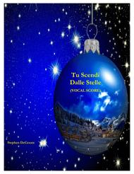 Tu Scendi Dalle Stelle (Vocal Score)