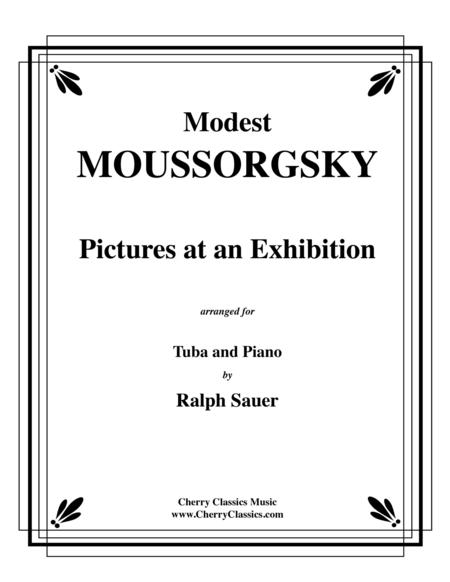 Pictures At An Exhibition for Tuba or Bass Trombone and Piano