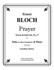 Prayer for Tuba or Bass Trombone & Piano
