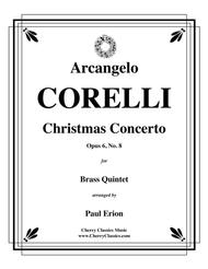 Christmas Concerto Op. 6, No. 8 for Brass Quintet