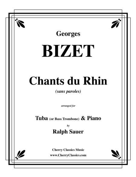 Chants du Rhin for Tuba or Bass Trombone and Piano