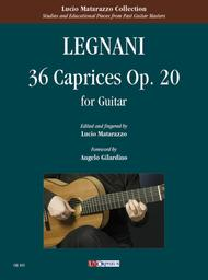 36 Caprices Op. 20 for Guitar