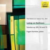 Volume 16: Sonatas Opp. 109 110