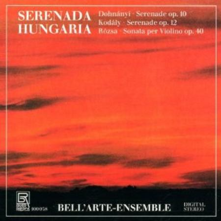 Serenades and Sonatas for Strings