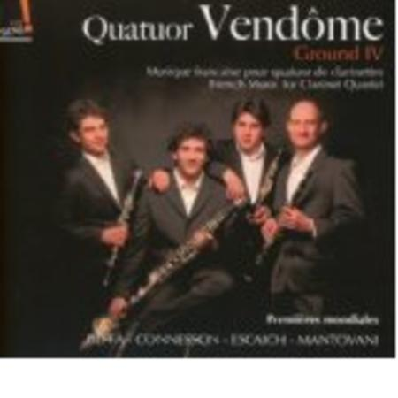 French Music for Clarinet Quartet