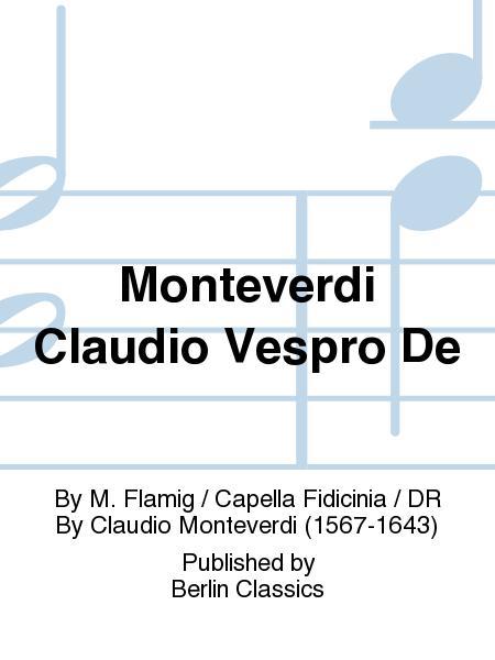 Monteverdi Claudio Vespro De