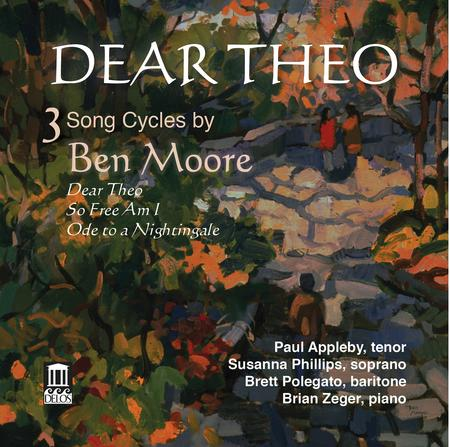 Dear Theo: 3 Song Cycles