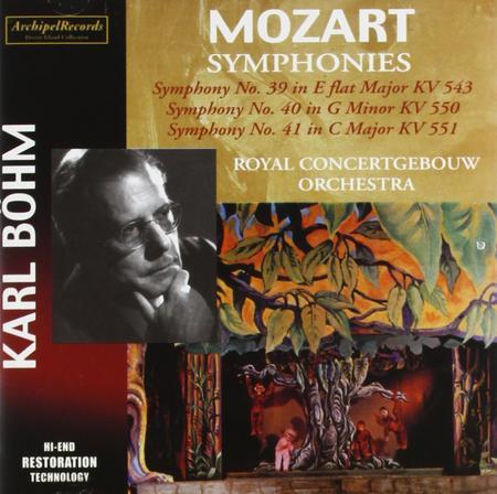 Sinfonien 39, 40 & 41; Royal C