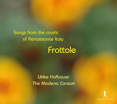 Frottole-Lieder an Den Hofen D