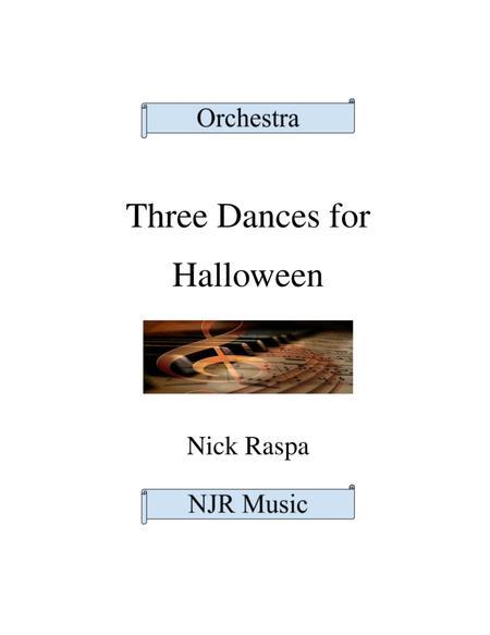 Three Dances for Halloween - Full Orchestra (full set)