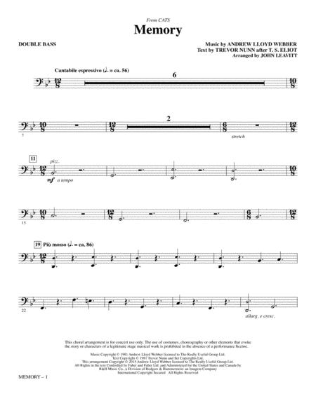 Memory - Double Bass