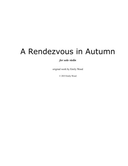 A Rendezvous in Autumn