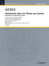 Variations on a Theme from Samori op. 6 WeV P.3