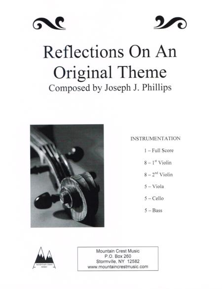 Reflections on an Original Theme-score