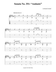 "Sonata No. 351: ""Andante"""