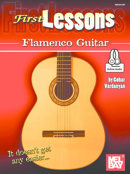First Lessons Flamenco Guitar
