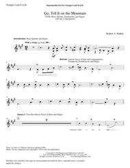 Go Tell It on the Mountain (Brass Setting Parts)