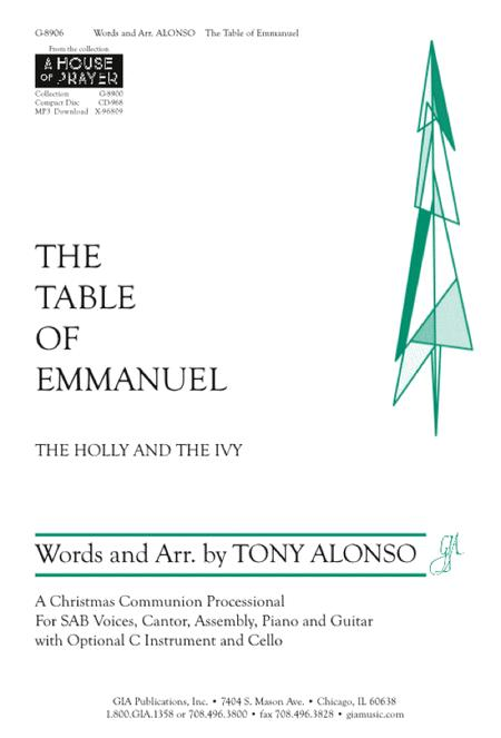 The Table of Emmanuel