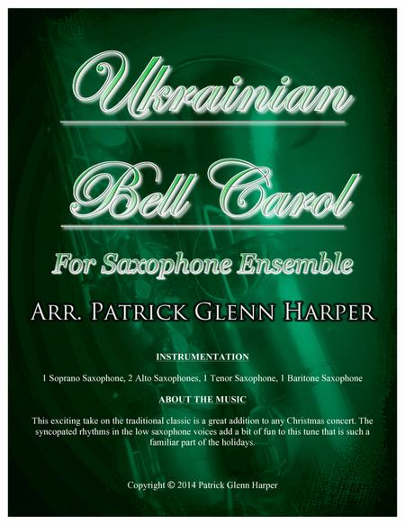 Ukrainian Bell Carol - for Saxophone Ensemble