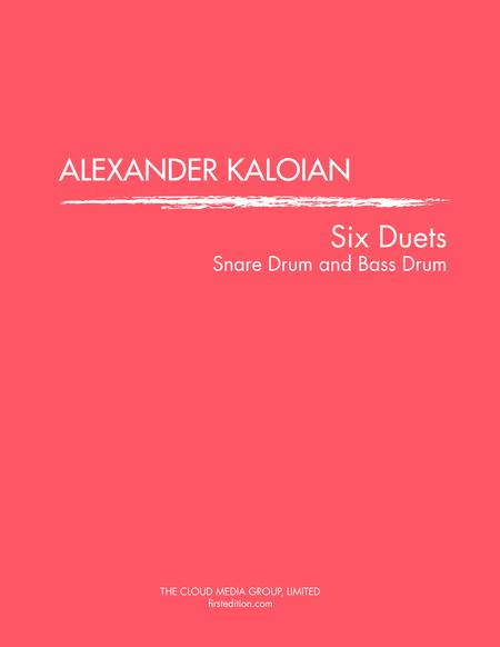 Six Duets for Snare Drum and Bass Drum (1980)