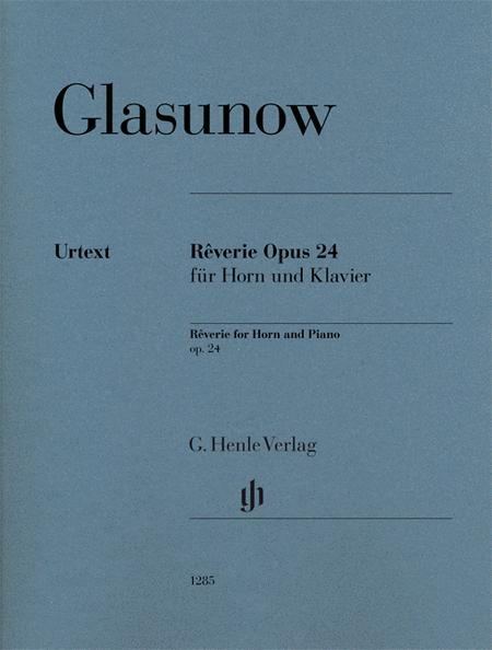 Reverie Op. 24 for Horn and Piano