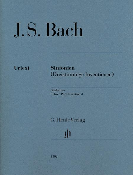Sinfonias (Three Part Inventions)