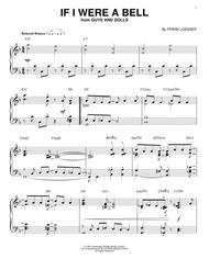 If I Were A Bell [Jazz version] (arr. Brent Edstrom)