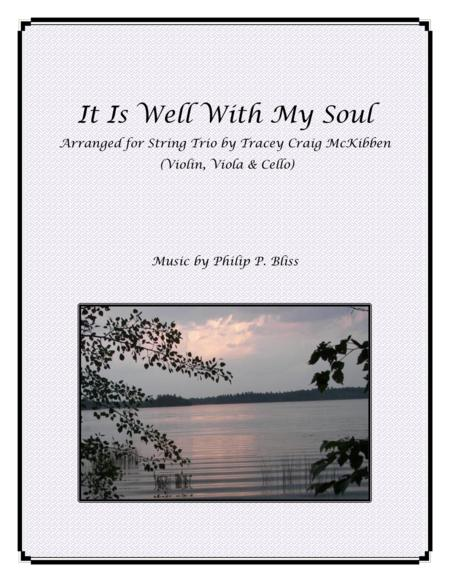 It Is Well With My Soul for String Trio